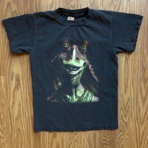 Vintage 90s Star Wars Jar Jar Binks T shirt